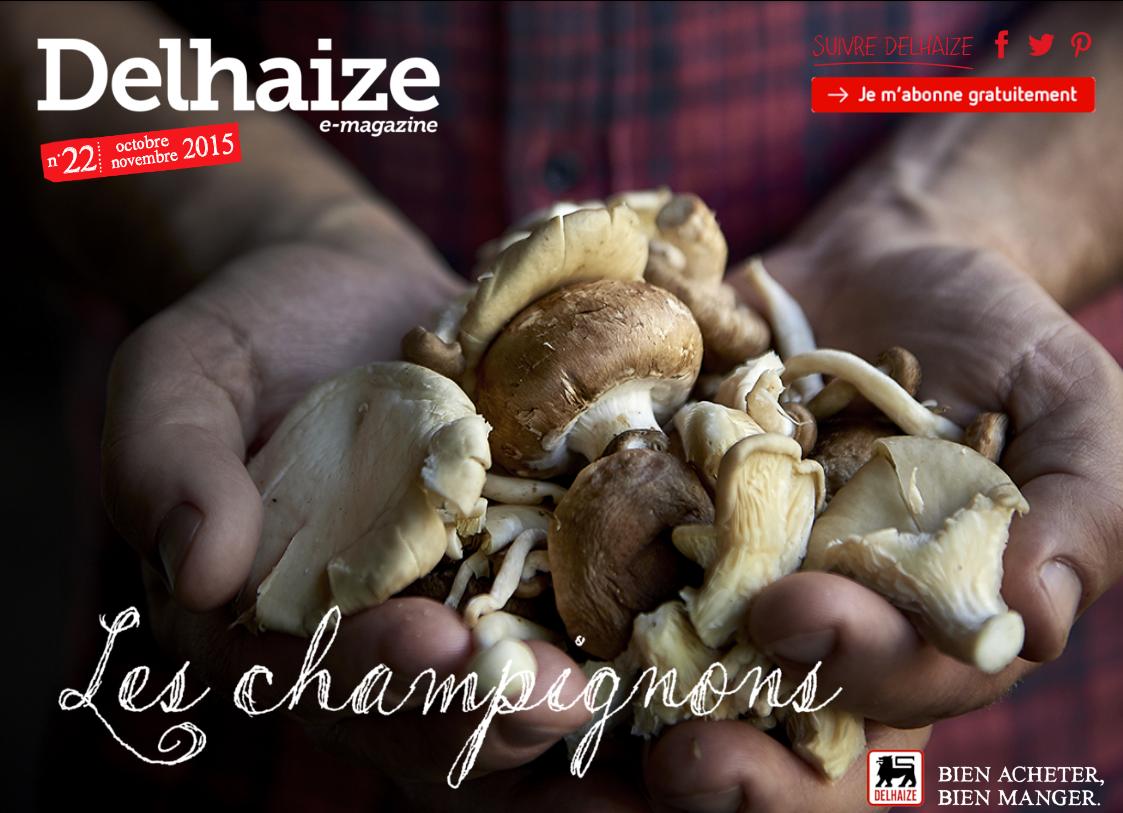 Delhaize magazine online