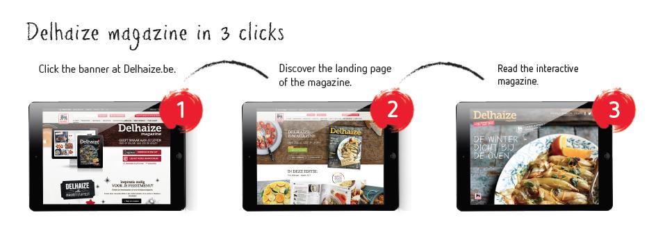 Gicom Delhaize online magazine
