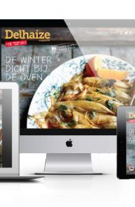 Gicom Delhaize content platform